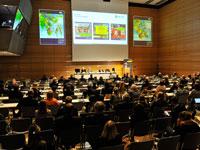 Οι ομιλητές της συνέντευξης τύπου στο Διεθνές Συνεδριακό Κέντρο του Μονάχου.;